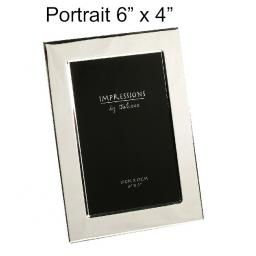 Personalised Silver 6 x 4 Photo frame