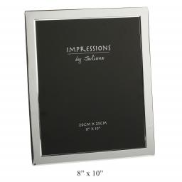 Engraved Silver Photo Frame 10 x 8