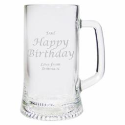 Personalised Pint Stern Tankard