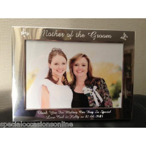 "Personalised Landscape 6 x 4"" Photo Frame"