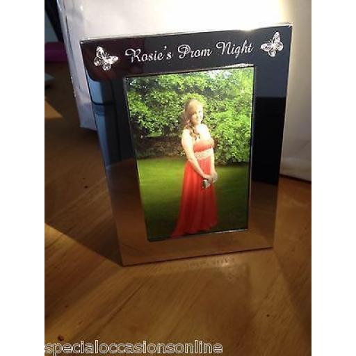 Personalised Portrait 7 x 5 Prom Night Photo Frame