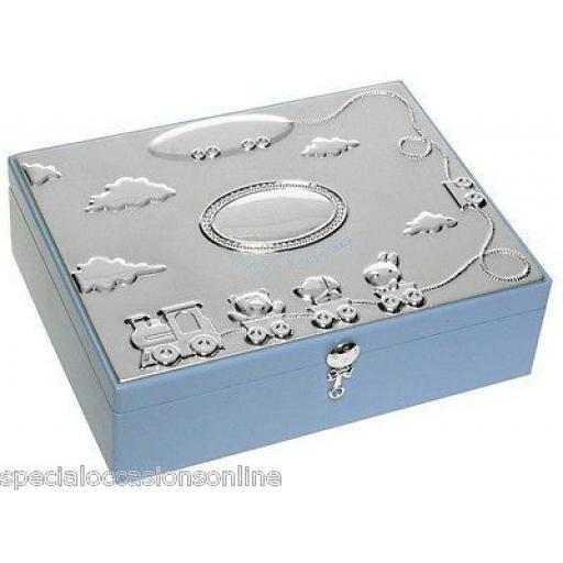 Personalised Wooden Baby Keepsake Memory Box