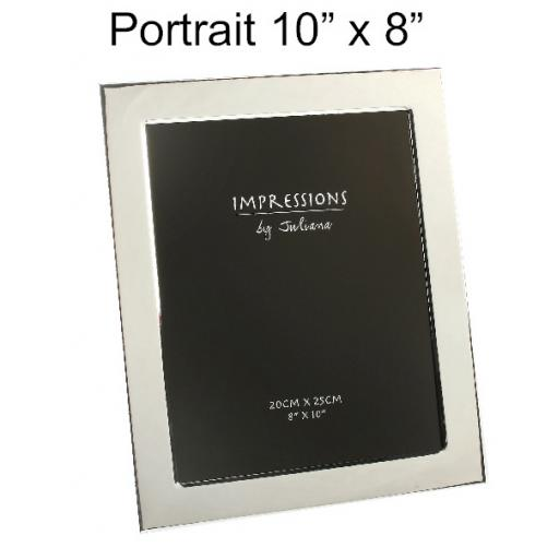 Personalised Portrait Photo frame 10 x 8""
