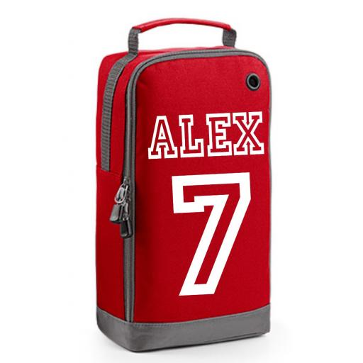 Personalised Boys Football Sports PE Boot Bag