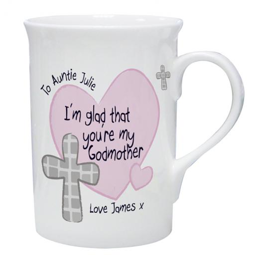 Personalised Godmother / Godfather Mug