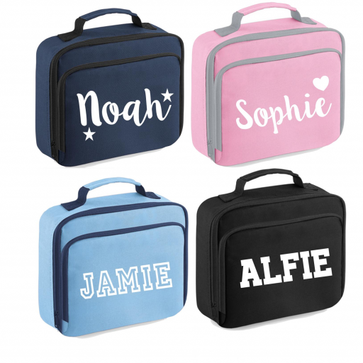 Personalised Childs Lunch Insulated School Dinner Box