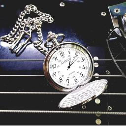 Personalised (Silver) Pocket Fob Watch